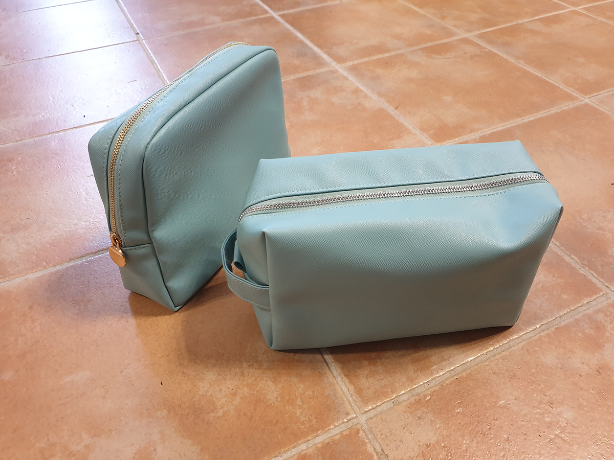 bag_cosmetic bag_PU leather